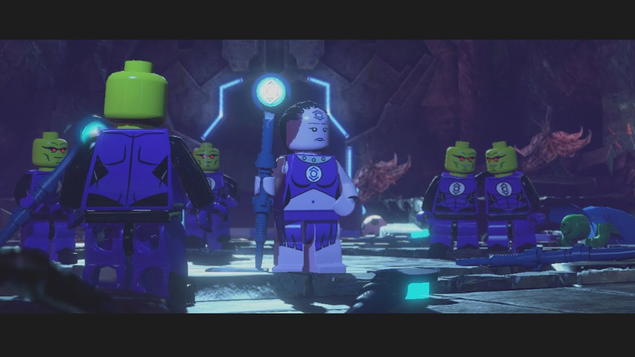 Lego Batman 3 Beyond Gotham Indigo 1 Boss Battle Gameplay 1080p