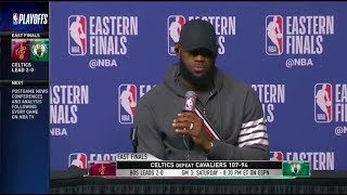 LeBron James and Kevin Love | ECF Game 2 Press Conference