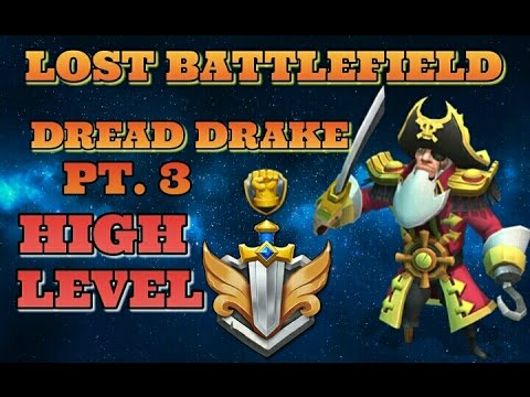 Castle Clash Lost Battlefield Turns Part 3! TG Debut!