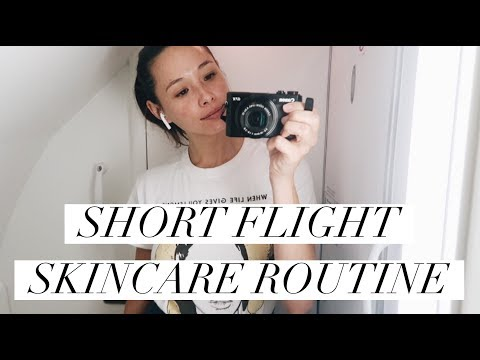 My Short Flight Skincare Routine | Airplane Skincare | Aja Dang thumbnail