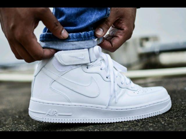 Air Force 1 White On Feet