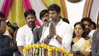 Piracy will be Killed by Producers Council - President Vishal speech