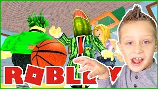 Scoring in Backetball / Roblox Highschool