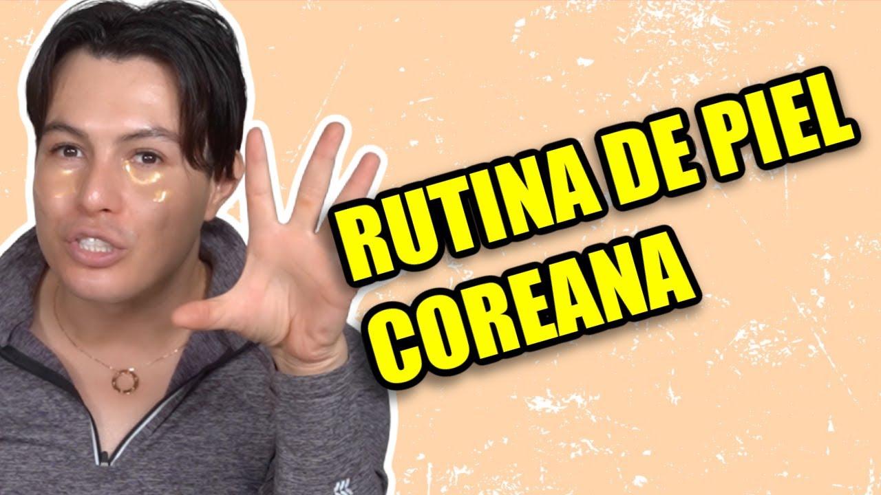 RUTINA DE CUIDADO DE PIEL CON PRODUCTOS COREANOS!