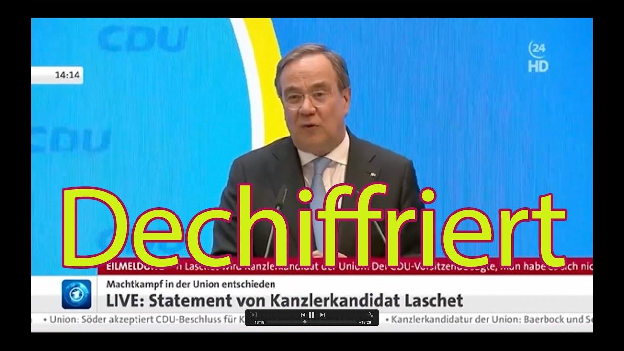 Laschet dechiffriert –seine Ohrfeige gegen Merkel, und wie sie die Medien