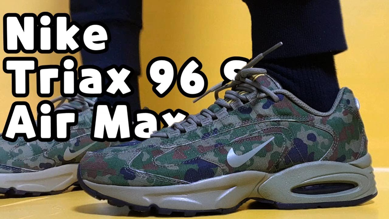Nike Air Max Triax 96 SP Safari camo
