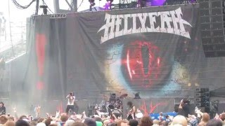 HELLYEAH PERFORMS HUMAN AT ROCK ON THE RANGE 2016