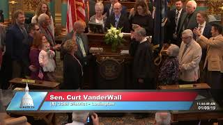 Sen. VanderWall sworn in as Michigan senator