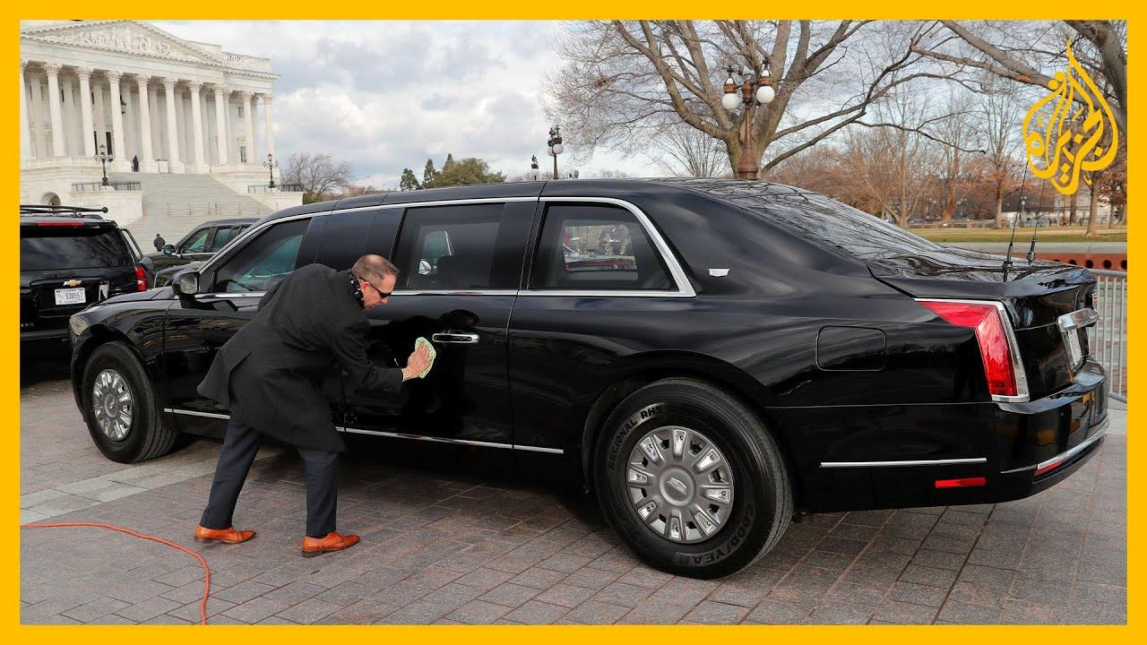 شاهد| الرئيس المنتخب بايدن يصل إلى منصة التنصيب في الكونغرس  - نشر قبل 44 دقيقة