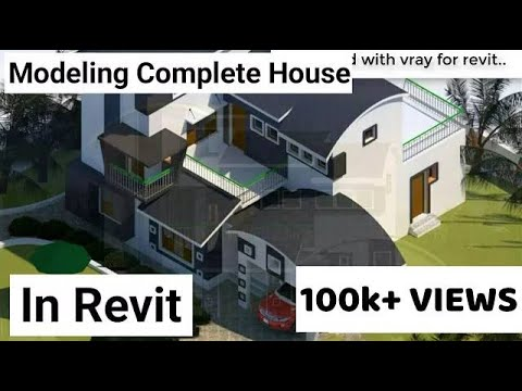 Revit Architecture| Modern House Design #9