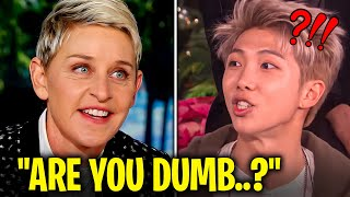*RUDEST* Questions That BTS Have Ever Answered!