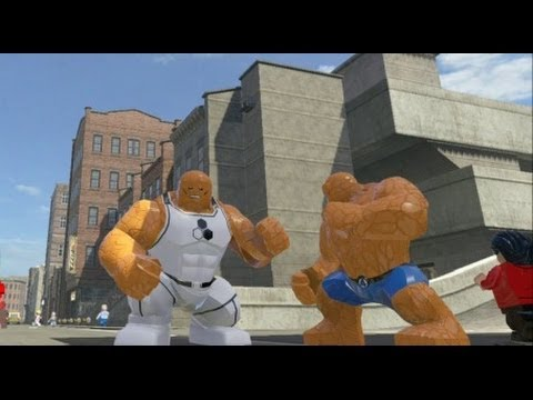 LEGO Marvel Super Heroes - Thing & Thing (Future ...