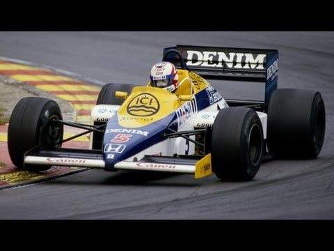 F1 1985: Nigel Mansell First Win European Grand Prix - Formua One Highlights HD