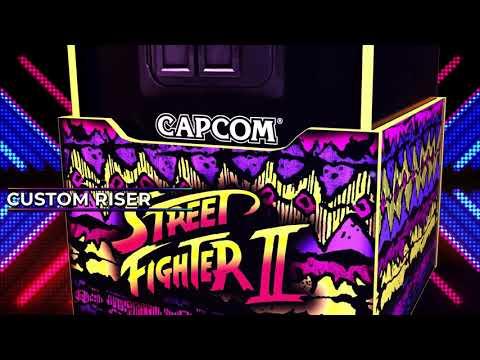 Arcade1Up Street Fighter Legacy Edition with Riser - Smyths Toys from Smyths Toys Superstores