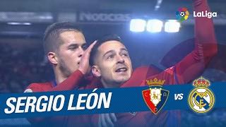 Great Goal of Sergio León (1-1) Osasuna vs Real Madrid
