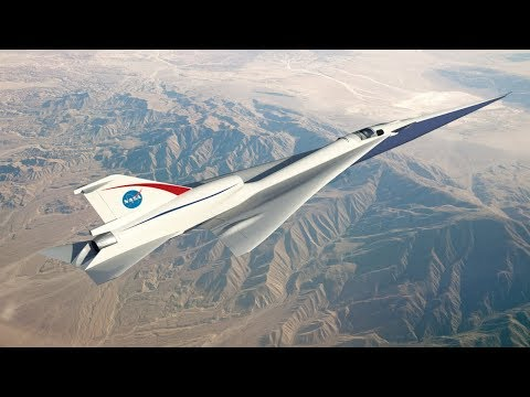 Trump Administration for NASA includes full funds for an experimental supersonic aircraft