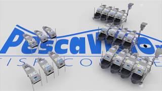 3D анимация работы счетчиков рыбы PescaVision