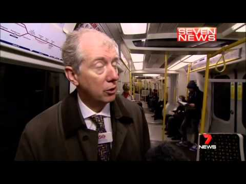 Seven News Sydney - Interview with Incoming Sydney Trains CEO, Howard Collins (18/3/2013)