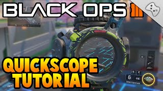 Black Ops 3 - Quickscope Tutorial / BO3 Sniper Tutorial für Anfänger - German/Deutsch