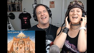 Iron Maiden (Powerslave) Kel-n-Rich's First Reaction as KEL DRIVES THE METAL BUS!!!