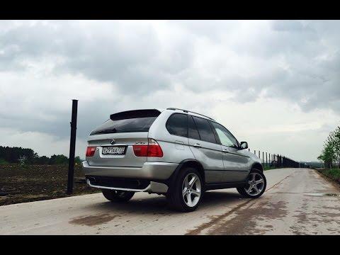 Грузовик Fiat наказал BMW X5 E53 4.4 (Старичок наваливает) Часть 5
