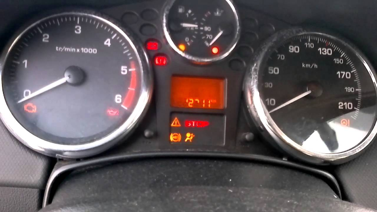 peugeot 207 1.6 hdi 92 '06 coldstart at -22celcius - youtube
