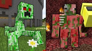 Repeat youtube video 5 NEW Mobs Minecraft NEEDS