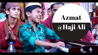 Cute Qawwal at Haji Ali Dargah ( Azmat Hussain before entering L
