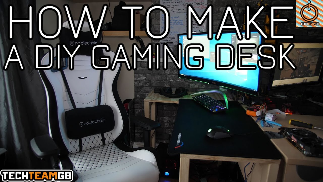 Charming DIY Gaming Desk   How To