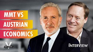 Opposing Views on the Role of Government and the Essence of Money (w/Michael Green & Peter Schiff)
