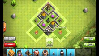 Clash Of Clans - Layout cv3