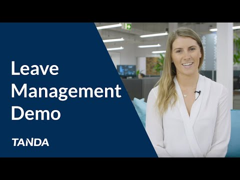 Tanda Demo: Leave Management