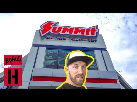 Dan Goes To Car Heaven AKA Summit Racing Mega Store!