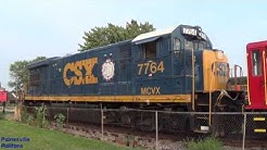 Lake Shore Railway Museum Surprise Donation! GE U36B CSX/MCVX 7764!