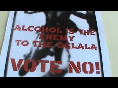 Harold Selway speaks about Oglala Lakota Nation Alcohol Vote