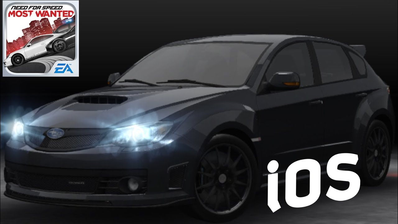 NFS MW 2012 iOS - Subaru Cosworth Impreza STI CS400