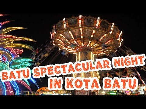 Wisata Malam Batu Night Spectacular Malang - Travel Vlog Myfunfoodiary