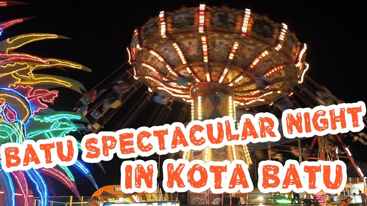 Wisata Malam Batu Night Spectacular Malang Travel Vlog Myfunfoodiary Youtube