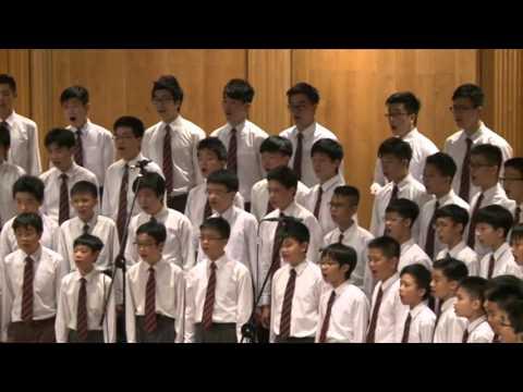 雪花的快樂 Diocesan Boys' School SATB all-boys version