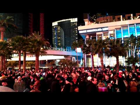 New Year Eve in Las Vegas10 minutes before 2015