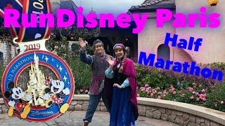 Half Marathon Couple Theme Run - RunDisney at Disneyland Paris with Rare Characters!