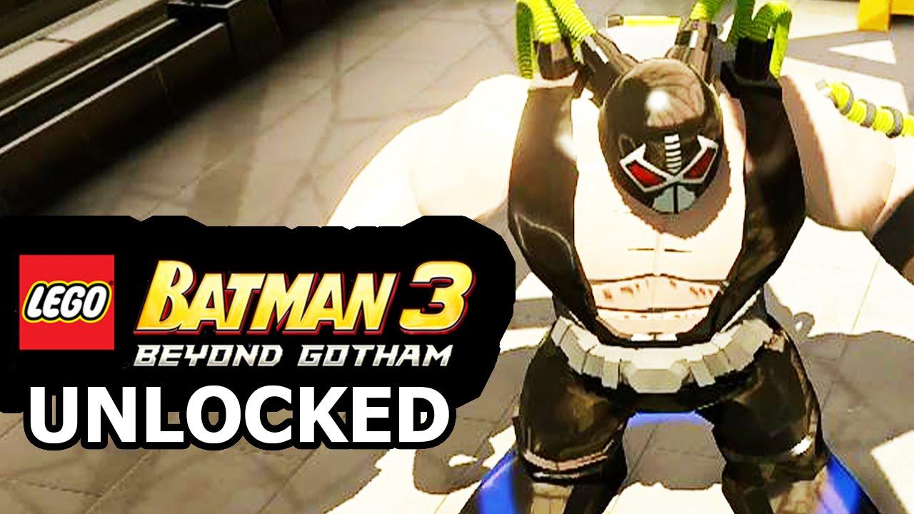 LEGO Batman 3: Beyond Gotham - How to Unlock Bane + Review ...