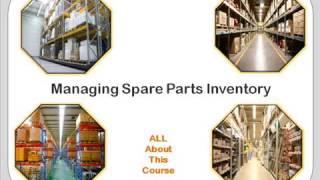 Managing spare parts inventory