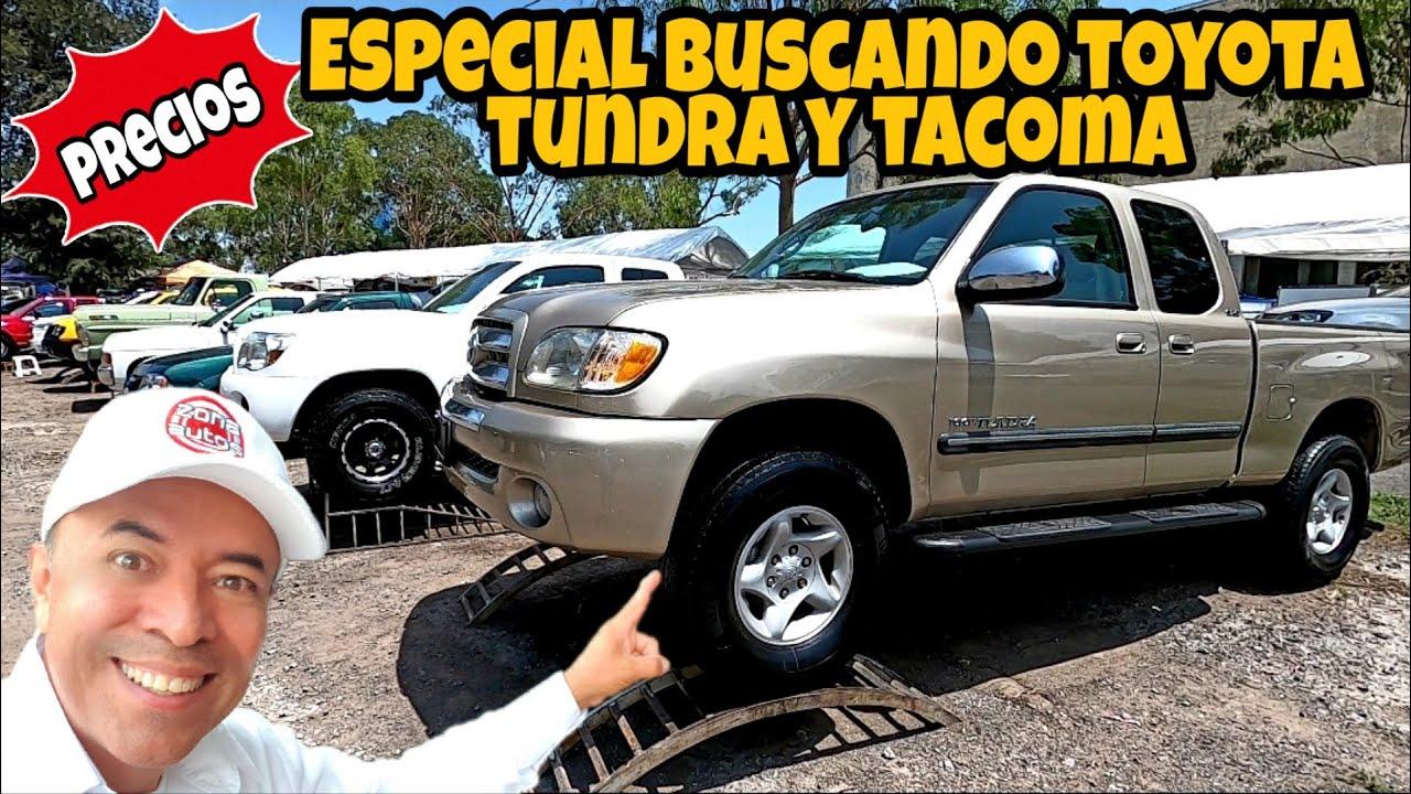 TOYOTA pickup tundra y tacoma EN VENTA LAS MEJORES TRUCKS tianguis de autos usados zona autos top 10