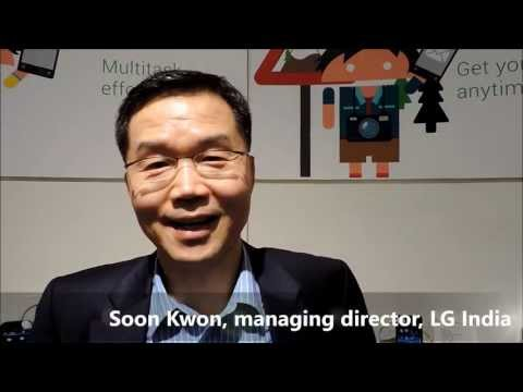 AndroidLand: Soon Kwon, managing director, LG India -by TelecomLead.com