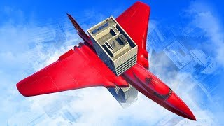 FLYING A PLANE INSIDE A BUILDING!? (GTA 5 Funny Moments)