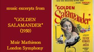 "William Alwyn: music excerpts from ""Golden Salamander"" (1950)"