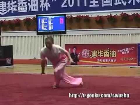 2011 China Traditional Wushu Nationals  Ying Zhao Quan  Ma Lan Henan