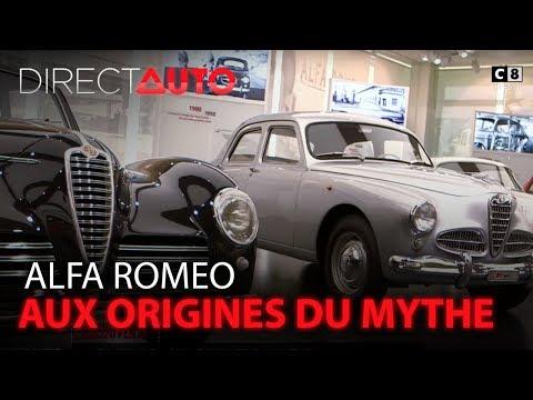 ALFA ROMEO : AUX ORIGINES DU MYTHE !