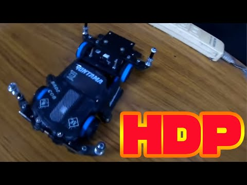 [Mini 4WD] Which is the fastest Hyper Dash! !